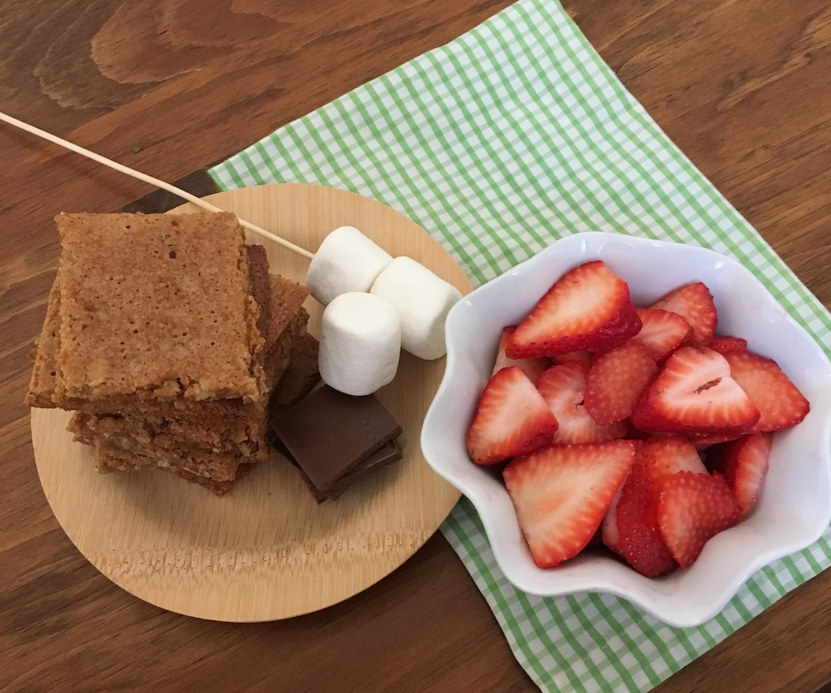 Gluten-Free Strawberry S'mores | Swirls and Spice