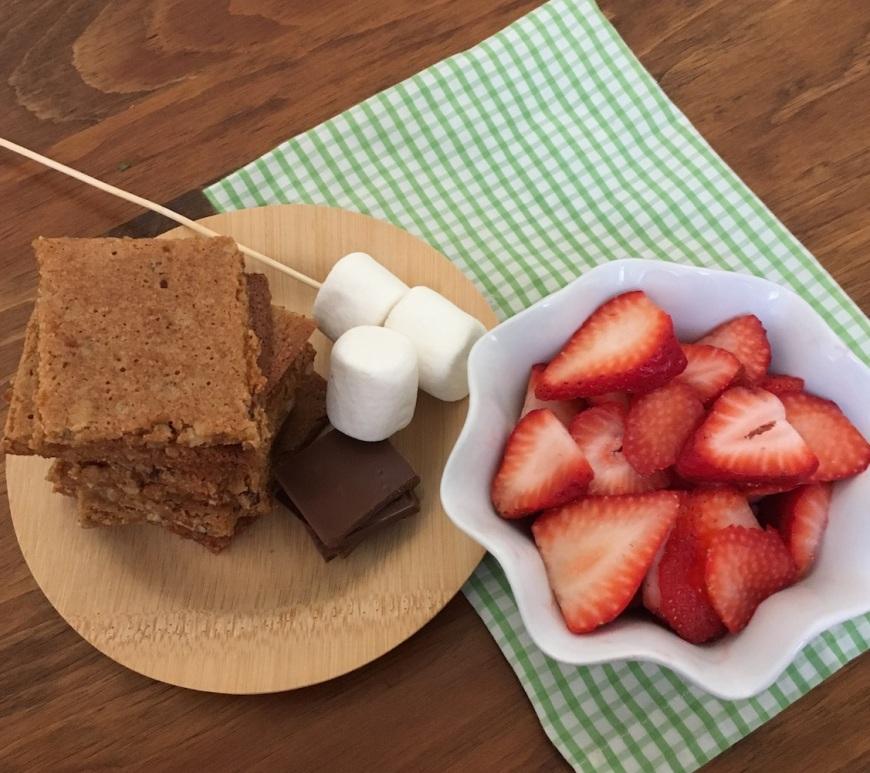 Gluten-Free Strawberry S'mores | Swirls and Spice