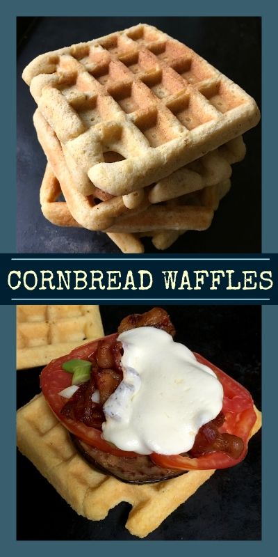 Cornbread Waffles | Swirls and Spice | #glutenfree