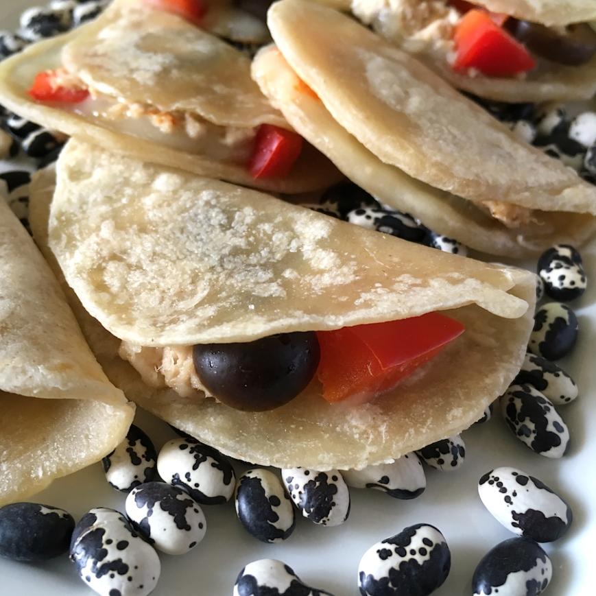 Tuna Melt Mini Tacos | Swirls and Spice