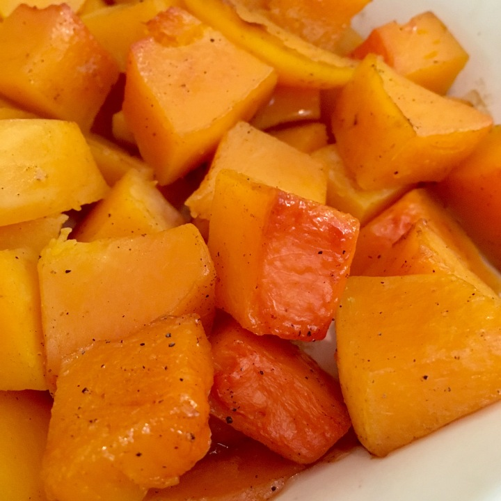 Butternut Squash with Spiced Cider | Swirls and Spice